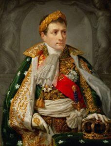 "Andrea Appiani ""Napoléon Ier, roi d'Italie"" / Vienne. Heeresgeschichtliches Museum."