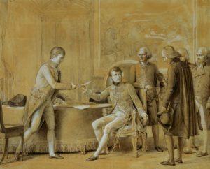 """François Gérard """"Signature du Concordat entre la France et le Saint-Siège, le 15 juillet 1801"""" / Versailles, Musée National du château"""
