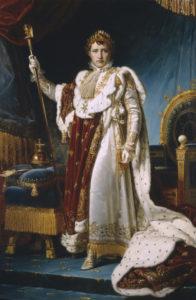 """François Gérard """"Napoléon Ier en costume de couronnement"""" / Naples, Museo Nazionale di Capodimonte"""