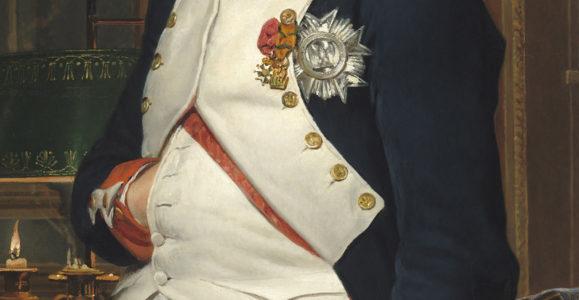 David, Jacques-Louis. L'Empereur Napoléon dans son bureau des Tuileries. 1812. Peinture. Washington, National Gallery.