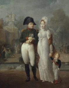 Anonyme - Napoleon 1er, Marie Louise et le roi de Rome
