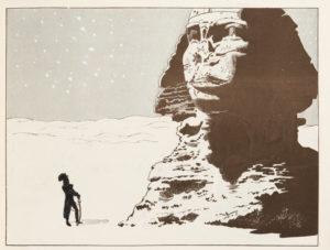 """Job """"Napoléon Bonaparte devant le Sphinx"""" / Collection particulière"""