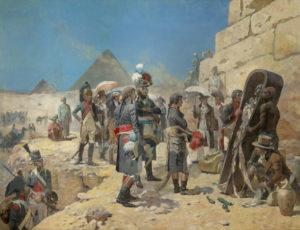 """Maurice Orange """"Napoléon Bonaparte devant les pyramides"""" / Granville, Musée d'Art et d'Histoire"""