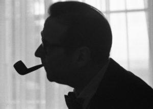 Léon Herschtritt. Georges Simenon. 1960. Photographie. Collection particulière.