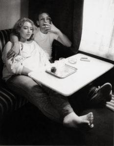 Franz Hubmann. Le Café Hawelka à Vienne. Vers 1982. Photographie. Collection particulière.