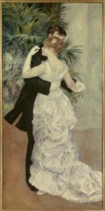 Auguste Renoir. Danse à la campagne. 1883. Peinture. Paris, Musée d'Orsay.