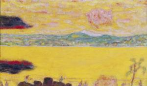 Bonnard, Pierre. Le golfe de St-Tropez au couchant. Peinture. Albi, Musée Toulouse-Lautrec.