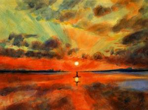 Busse, Ann-Kathrin. Power (Pouvoir). 2016. Peinture. Collection particulière.