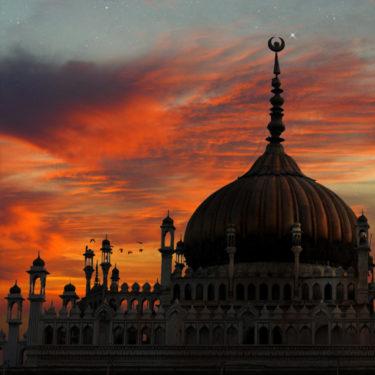 """Inde. Lucknow. """"Sakina"""". Chhota Imambara ou Hussainabad Imambara, mausolée de Muhammad Ali Shah, nawab d'Avadh. Photographie de Laurent Goldstein."""