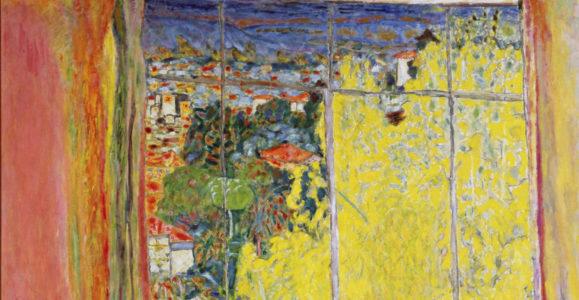 Bonnard, Pierre. L'atelier au mimosa. 1939. Peinture. Paris, Musée national d'Art moderne.