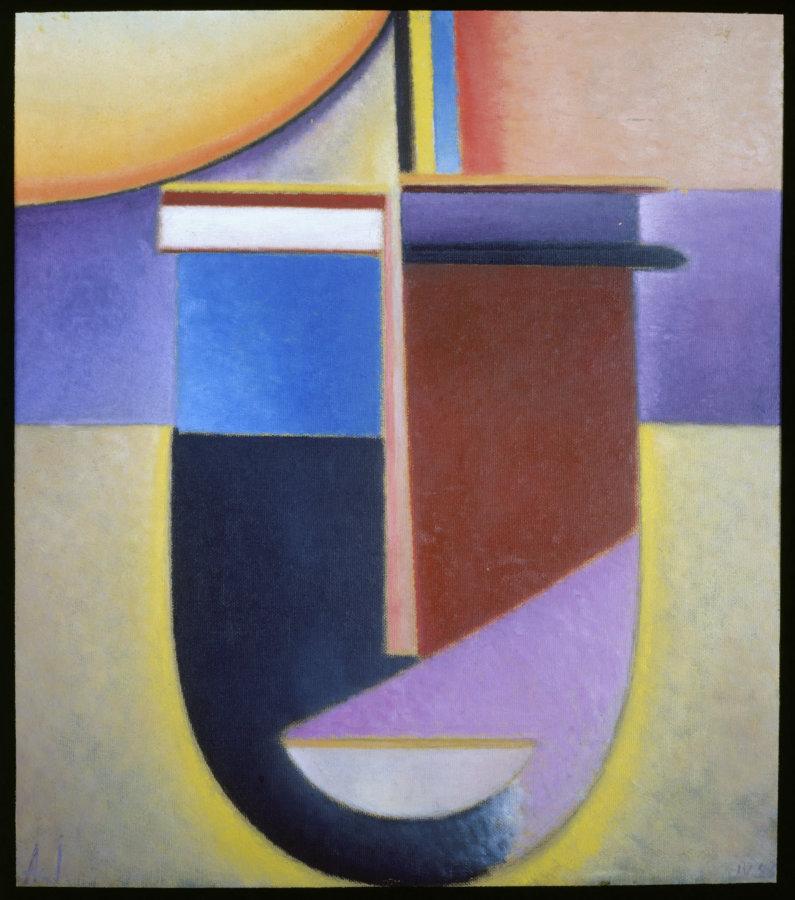 Jawlensky, Alexej von. Sonne, Farbe, Leben (Soleil, couleur, vie). Vers 1929. Peinture. Soleil, couleur, vie. Fin du XIXe-début du XXe siècle. Collection particulière.