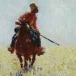 Repin, Ilja Efimowitsch. Sur la piste. 1881. Peinture. Samara (Russie), Musée.